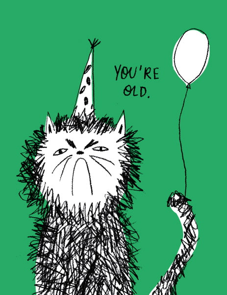 Badger & Burke-Card-Snitty Kitty Birthday