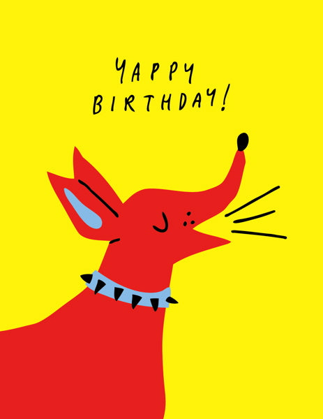 Badger & Burke-Card-Yappy Birthday
