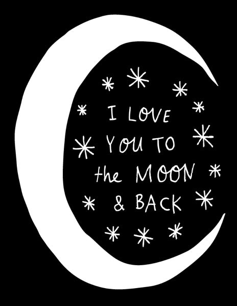 BADGER & BURKE-CARD-THE MOON AND BACK