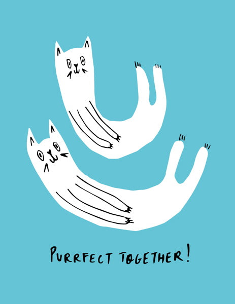 Badger & Burke-Card-Purrfect Together