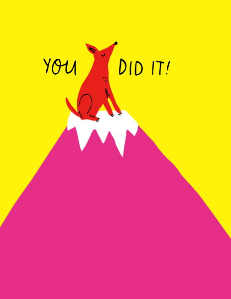 BADGER & BURKE-CARD-YOU DID IT