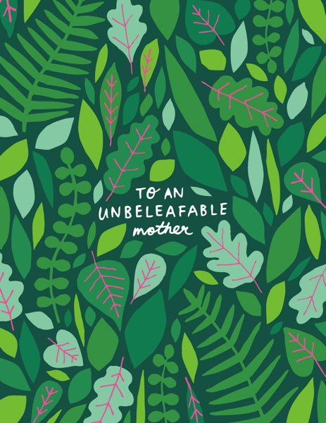 Badger & Burke-Card-Unbeleafable Mother