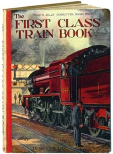 Bodleian Library-Card-First Class Train Book