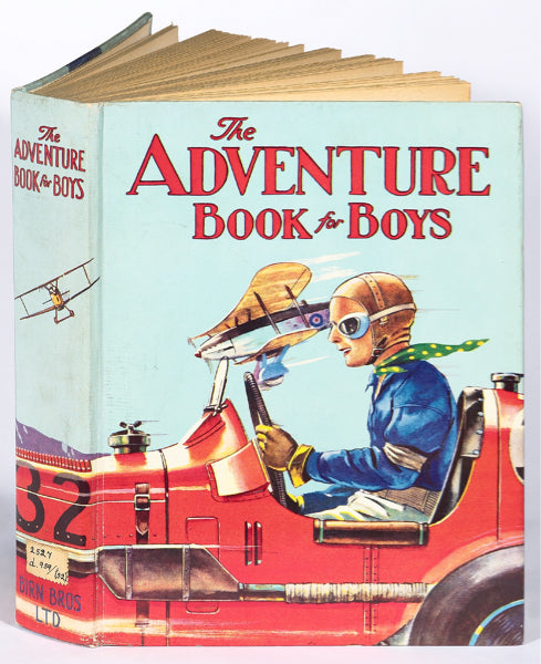 Bodleian Library-Card-The Adventure Book For Boys