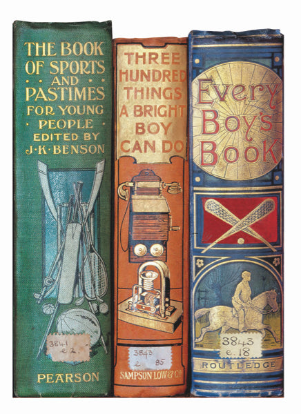 Bodleian Library-Card-Every Boys Book