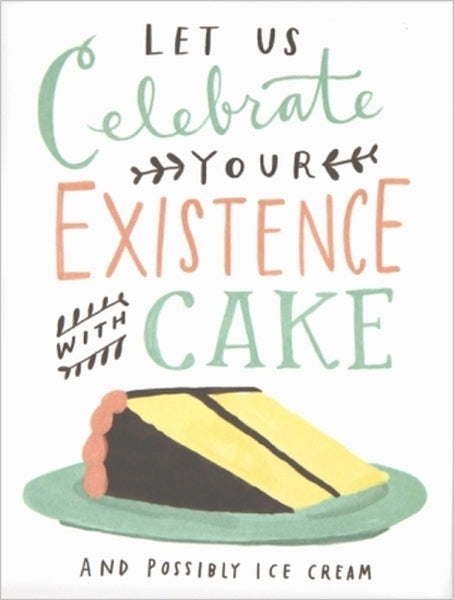 EMILY MCDOWELL-CARD-CELEBRATE WITH CAKE BIRTHDAY