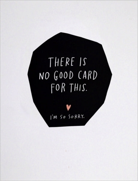 EMILY MCDOWELL-CARD-NO GOOD CARD FOR