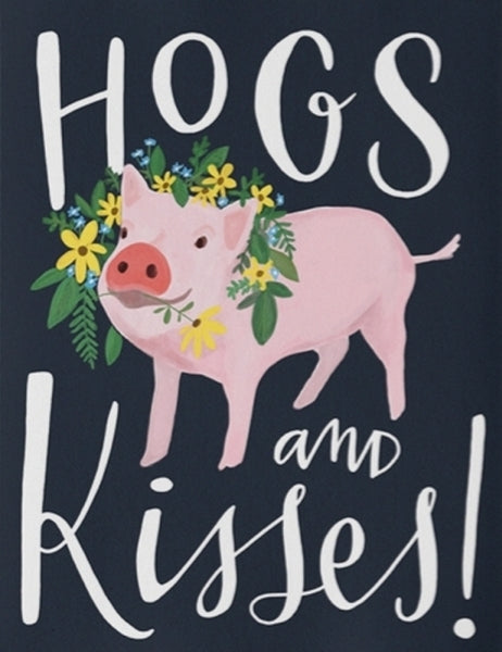 EMILY MCDOWELL-CARD-HOGS AND KISSES