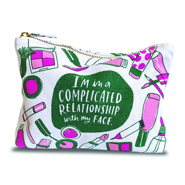 EMILY MCDOWELL-CANVAS POUCH-COMPLICATED