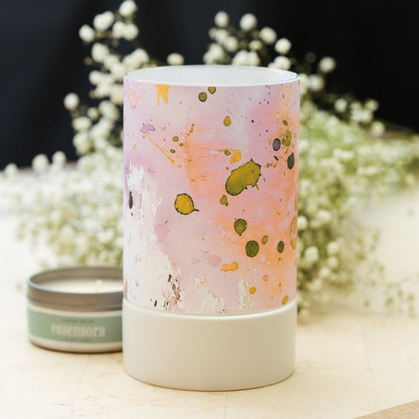 ESSENSORY-CANDLE KIT-PASTEL SPLATTER BY AMY SIA