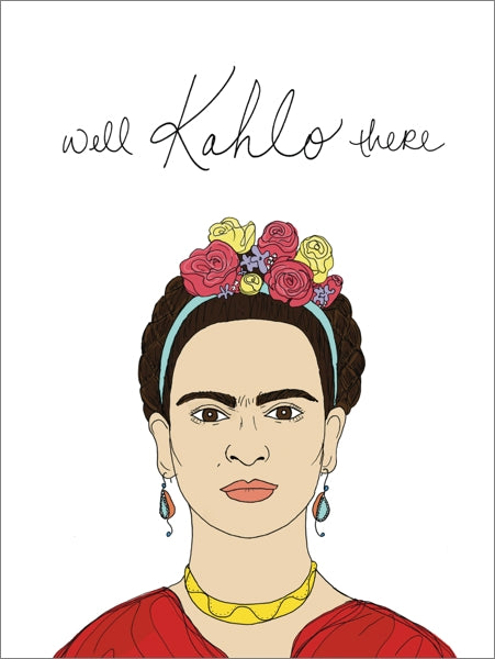 FINEASS LINES-CARD-KAHLO THERE