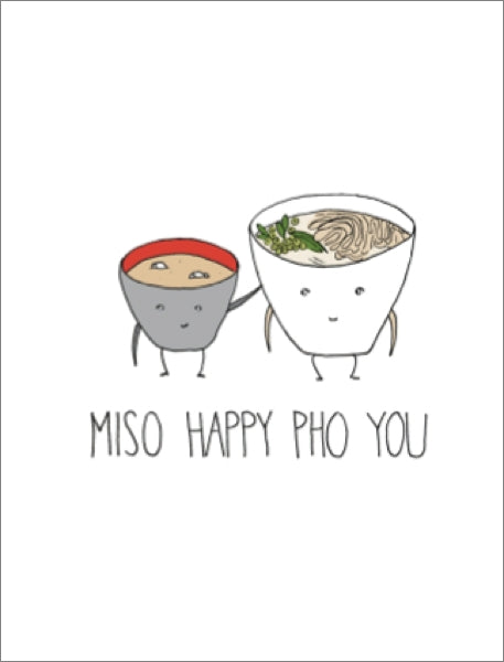 FINEASS LINES-CARD-MISO HAPPY PHO YOU