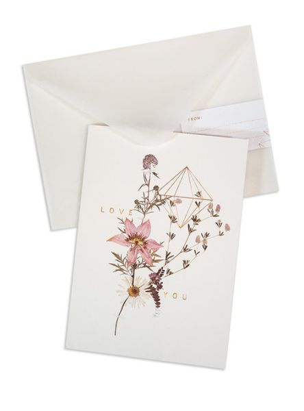 FIREWEED-FOIL CARD-SWEET STEMS