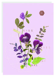 FIREWEED-FOIL CARD-KISS KISS