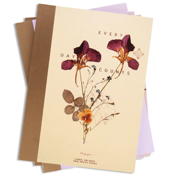 Fireweed-Cloth Bound Note Book-Twins