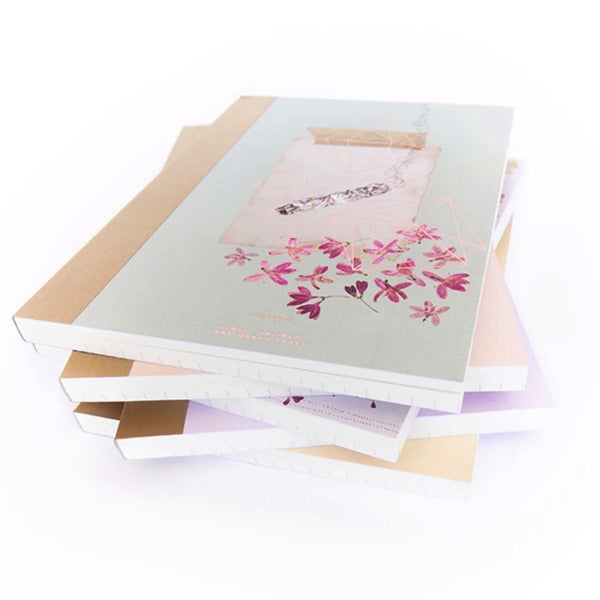Fireweed-Cloth Bound Note Book-Smudge