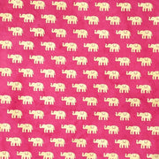 Giftsland-Wrap-Elephant Gold On Magenta