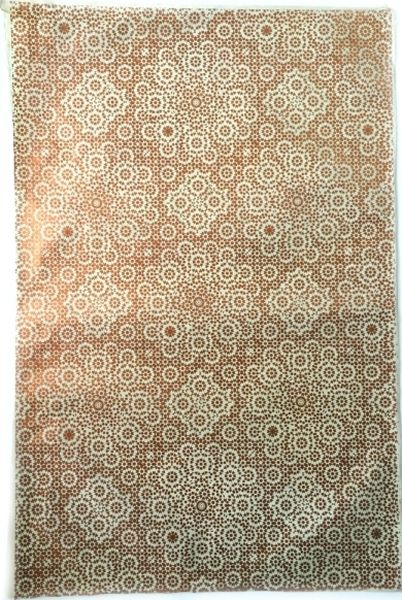 Giftsland-Wrap-Mosaic Copper On Cream