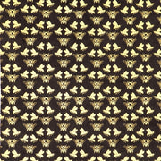 Giftsland-Wrap-Bees Gold On Black
