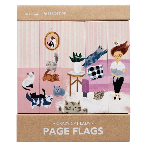 Girl of All Work-Page Flags-Crazy Cat Lady