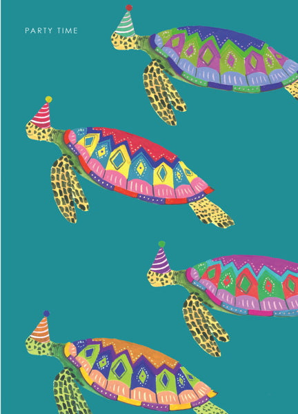 HUTCH CASSIDY-CARD-SEA TURTLES