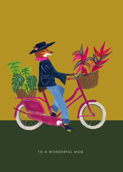 HUTCH CASSIDY-CARD-BICYCLE MUM