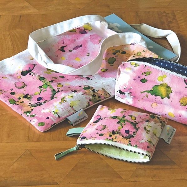 Hello Sunday-Coin Purse-Pastel Splatter
