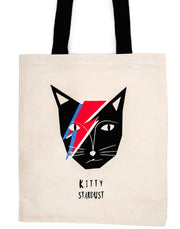 Niaski-Large Tote-Kitty Stardust