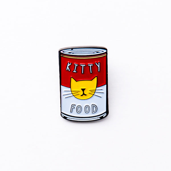 Niaski-Enamel Pin-Kitty Warhol