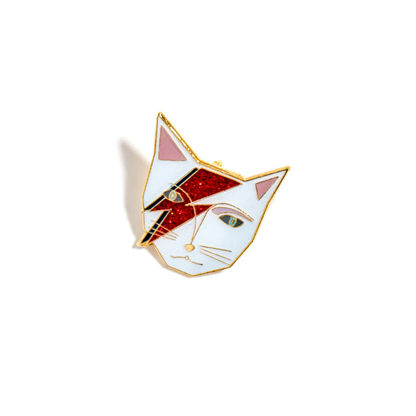 Niaski-Enamel Pin-Kitty Stardust