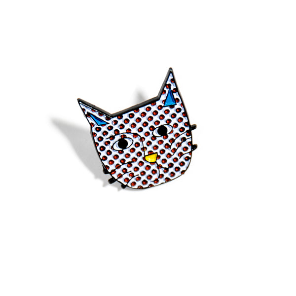 NIASKI-ENAMEL PIN-KITTENSTEIN CAT