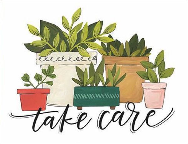 1CANOE2-CARD-TAKE CARE PLANTS