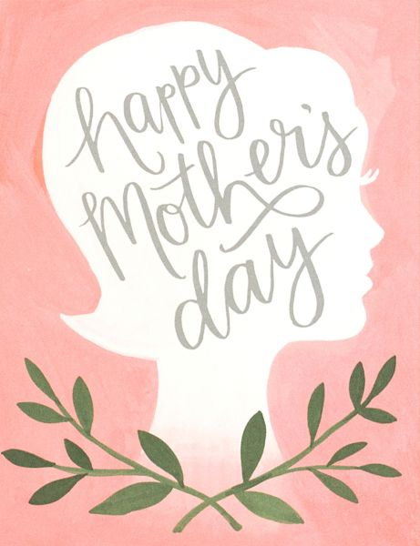 1Canoe2-Card-Mother's Day Silhouette
