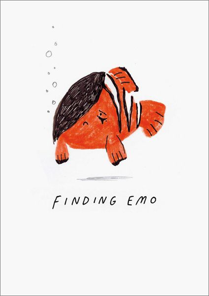 OHH DEER-CARD-FINDING EMO
