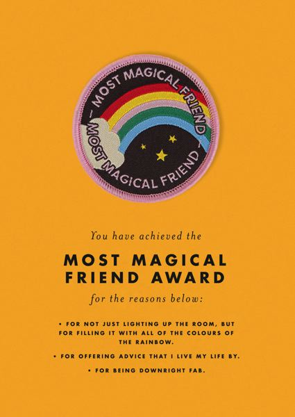 Ohh Deer-Patch Card-Most Magical