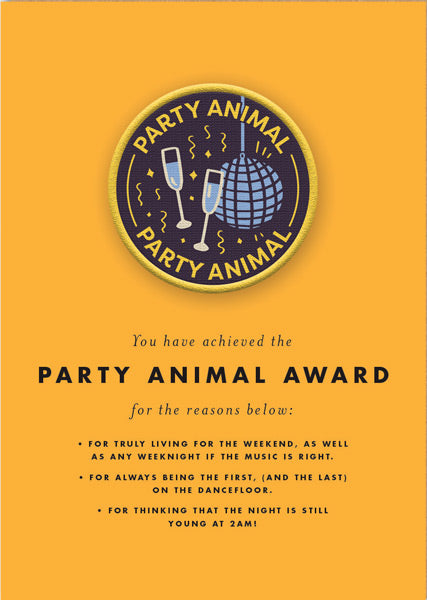 Ohh Deer-Patch Card-Party Animal
