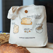 Ohh Deer-Large Shopping Tote-Complex Carbohydrates