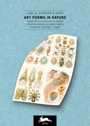 Pepin Press-Label and Sticker Book-Art Forms In Nature