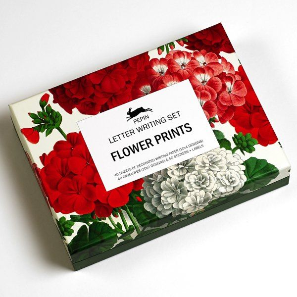 Pepin Press-Letter Writing Sets-Floral Prints