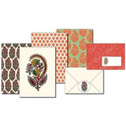 Pepin Press-Letter Writing Set-Indian Block Prints