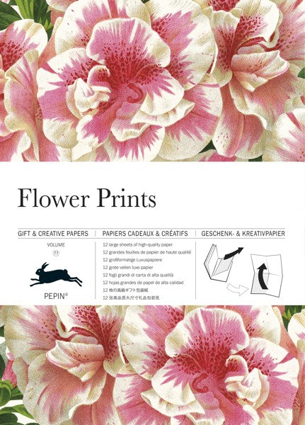 Pepin Press-Gift and Creative Papers Book-Flower Prints