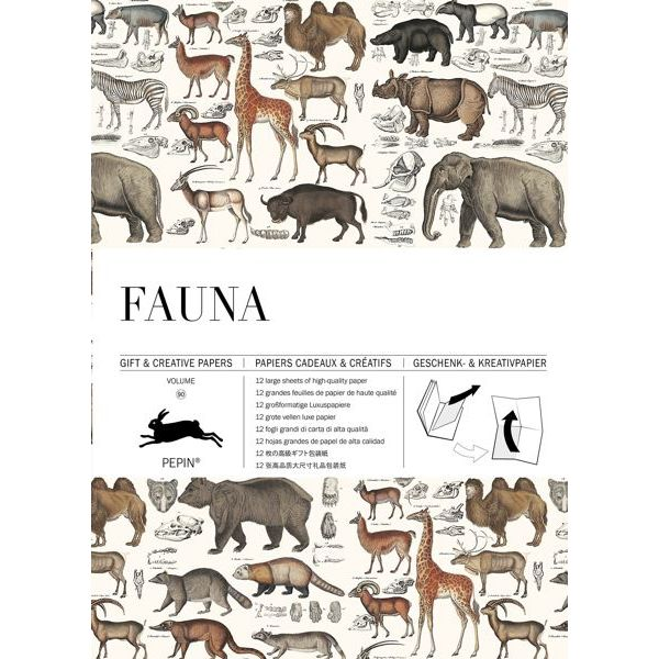Pepin Press-Gift and Creative Papers Book-Fauna