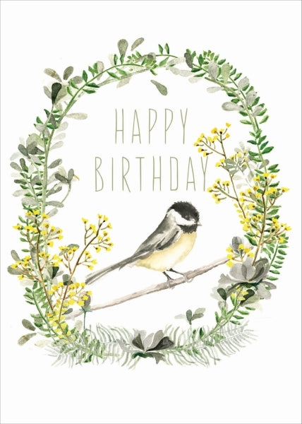 PAPAYA-CARD-HAPPY BIRTHDAY GARDEN