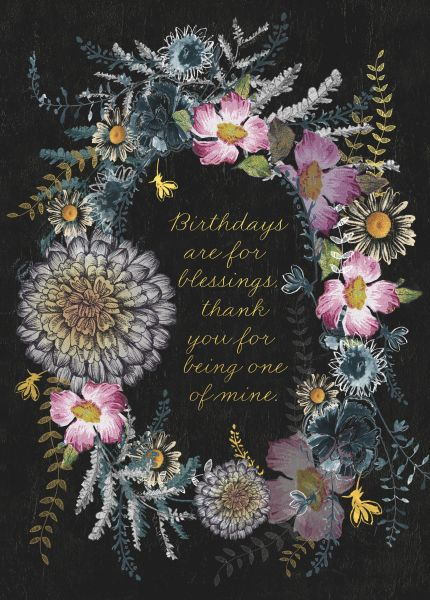 Papaya-Foil Card-Birthday Seeds
