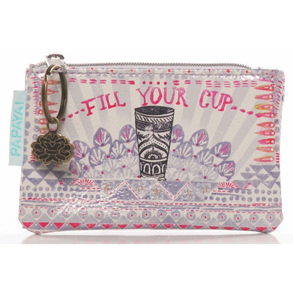 Papaya-Coin Purse-Fill Your Cup