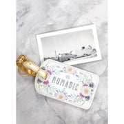 Papaya-Luggage Tag-Sunrise Wreath