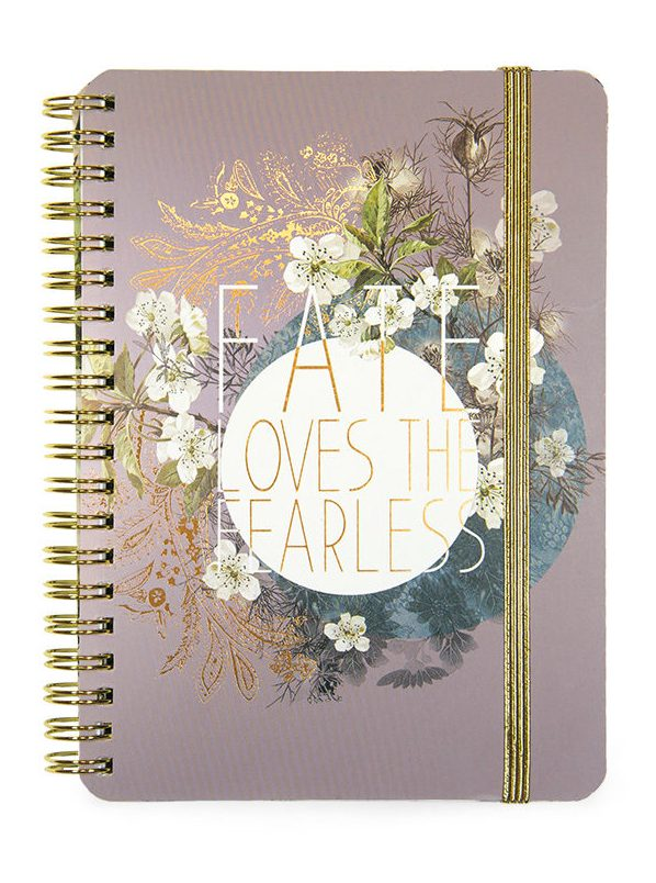 PAPAYA-SMALL NOTEBOOK-FEARLESS FATE
