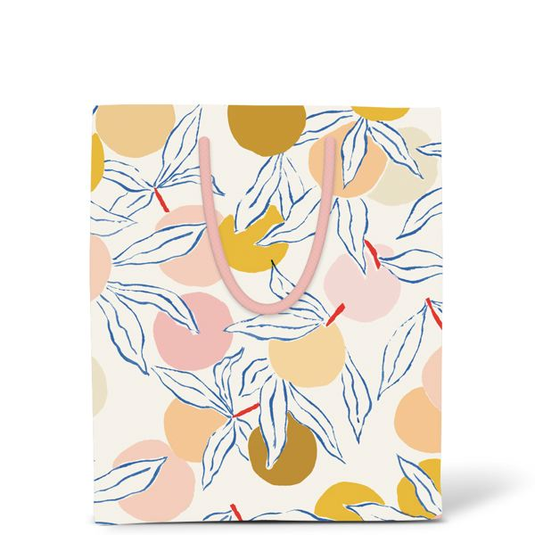 RED CAP-GIFT BAG-PEACHES