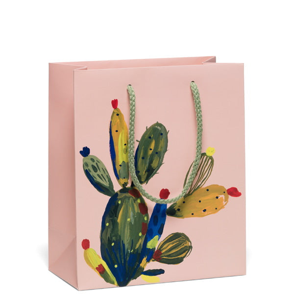 Red Cap-Gift Bag-Cactus Rose