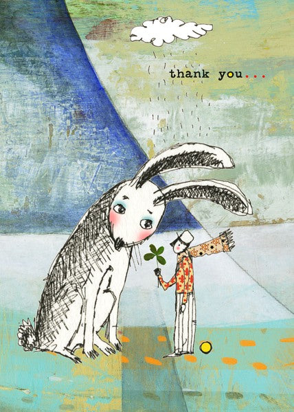 Sacredbee-Card-Rabbit's Thank You